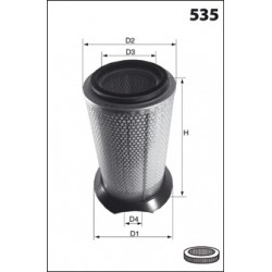 YFA01509 filtre à air